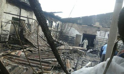 Fire guts down  building at Gweru's Kudzanai terminus