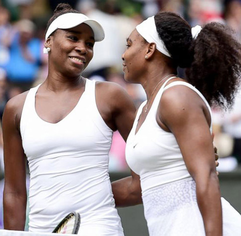 Wimbledon: Serena, Venus close in on final