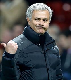 Mourinho targets Manchester United glory