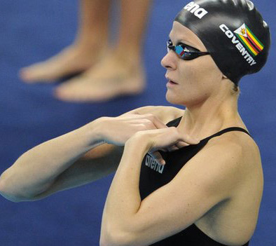 Zimbabwe's iconic swimmer Kirsty Coventry out to make history