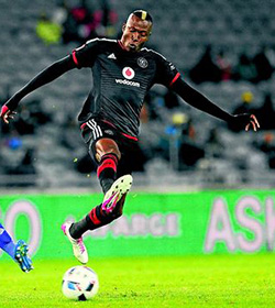 Ndoro hat-trick takes Bucs to victory