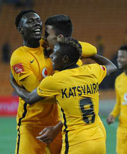 Kaizer Chiefs striker Michelle Katsvairo expects the goals to come