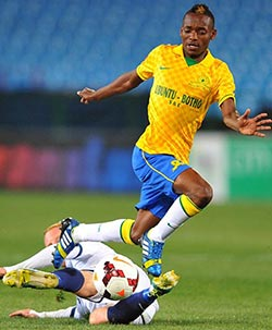 Billiat can't wait for 'CBD' reunion as Castro returns for Sundowns