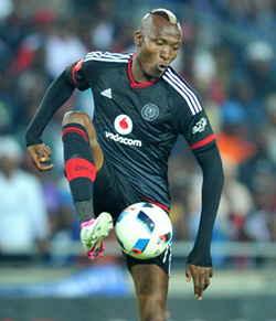 SA: Orlando Pirates striker Tendai Ndoro leading Golden Boot race