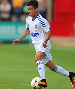 Ipswich legend Dyer has high hopes for former Colchester schoolboy Tristan  Ipswich Town youngster Tristan Nydam breaks forward during an U17 tournament