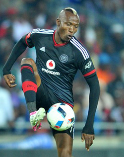 Tendai Ndoro is determined to help make Orlando Pirates' 80th anniversary one to remember