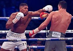 Joshua beats Klitschko in heavyweight epic