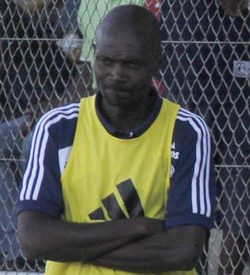 Dynamos crash out despite win  Too little too late … Cliff Sekete scores winner with diving header on Sunday