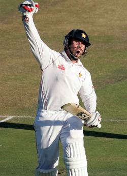 Taylor ton  drives Zimbabwe fight