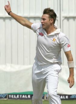Taylor tons steer Zim to massive win
