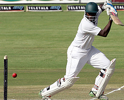 Zimbabwe bowled out for 282