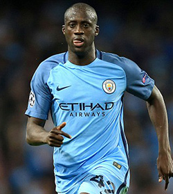 Yaya Toure and agent Dimitri Seluk donate cash to Manchester bomb victims