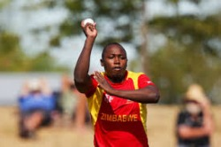 Tendai Chatara's five-for destroys Netherlands in opener