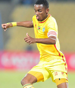 Karuru lauded after impressing at Cosafa Cup