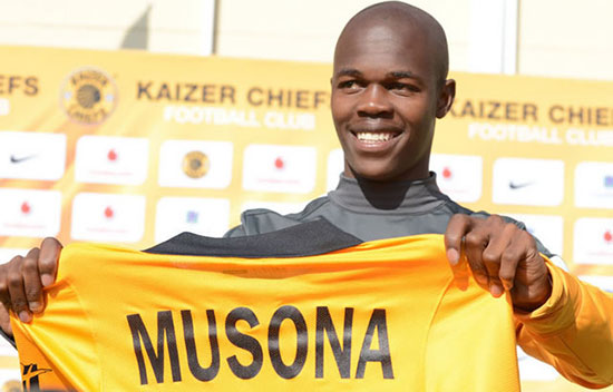 Kaizer Chiefs be looking to re-sign Knowledge Musona?