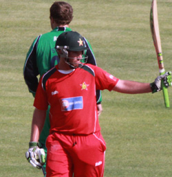 Taylor ready to get 'stuck in' with Zimbabwe
