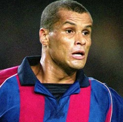 Barcelona legend Rivaldo lands in Harare