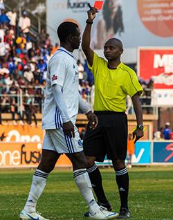Kaizer Chiefs monitoring Dynamos striker Christian Ntouba