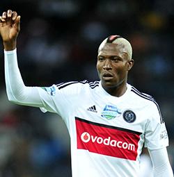Ajax Cape Town coach Muhsin Ertugral beaming at Tendai Ndoro's contribution