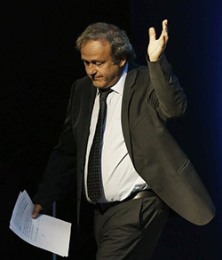 Banned Platini appealing to European Court of Human Rights