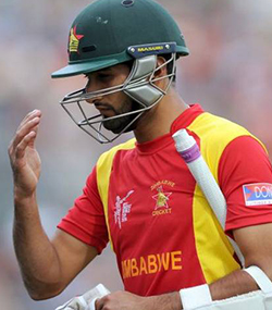 Zimbabwe's Sikandar Raza fined for showing dissent in third ODI against Afghanistan