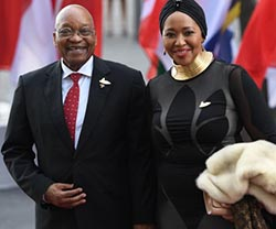 Zuma family apologises for first lady's comments