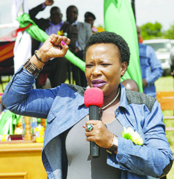 First Lady Auxilia Mnangagwa dumps her MP seat