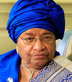 Liberia's Sirleaf wins prestigious Ibrahim Prize for African leadership