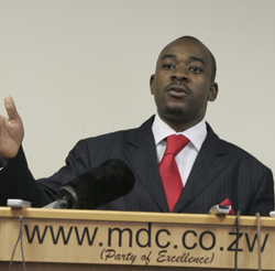 MDC-T meeting elects Chamisa leader, Khupe and Mudzuri miss vote