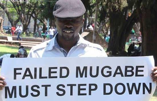 Itai Dzamara's Wife Petitions Mnangagwa Over Missing activist