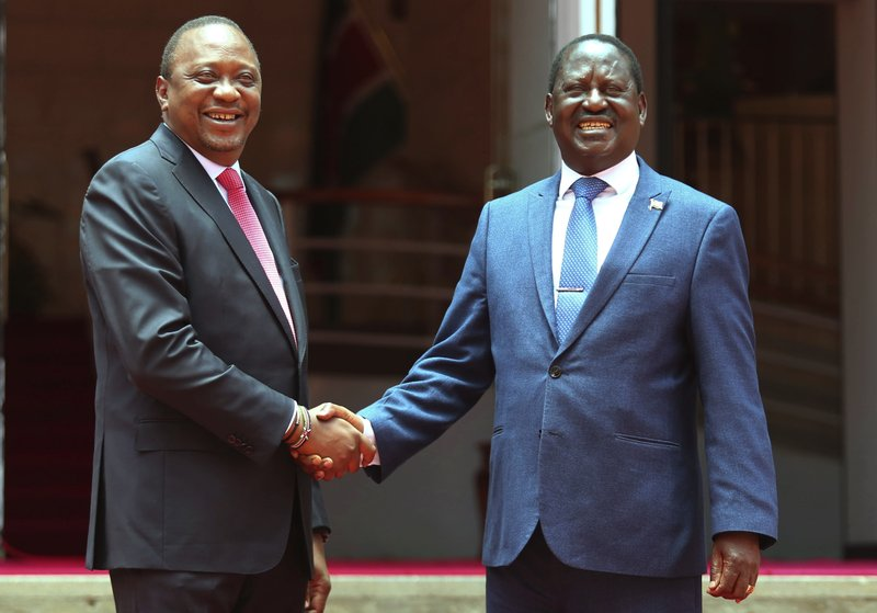 Kenya President and opposition leader meet to unify country