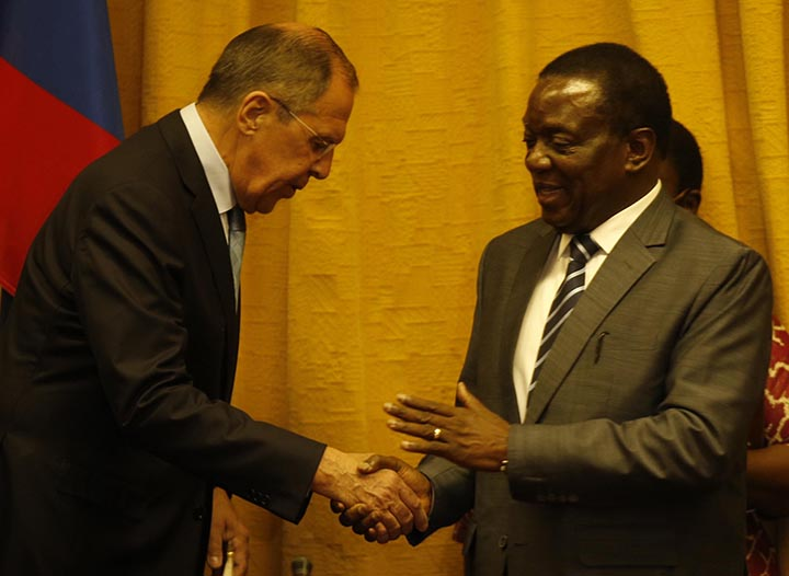 Russia eyes Zimbabwe's diamonds and platinum