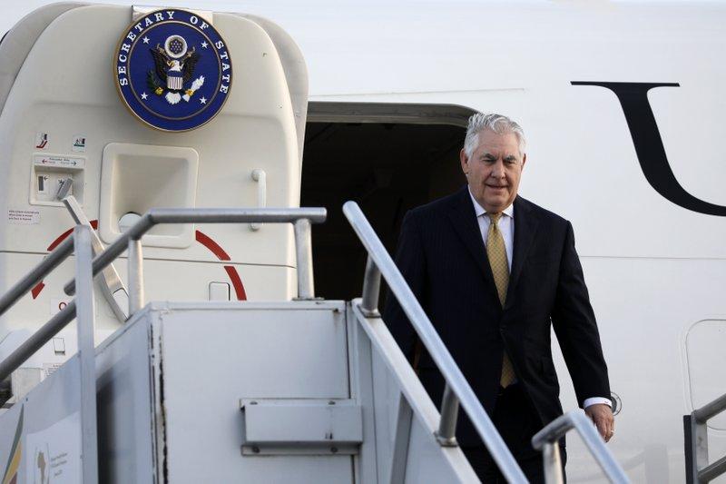 Tillerson aims to show US cares despite Trump's Africa slur
