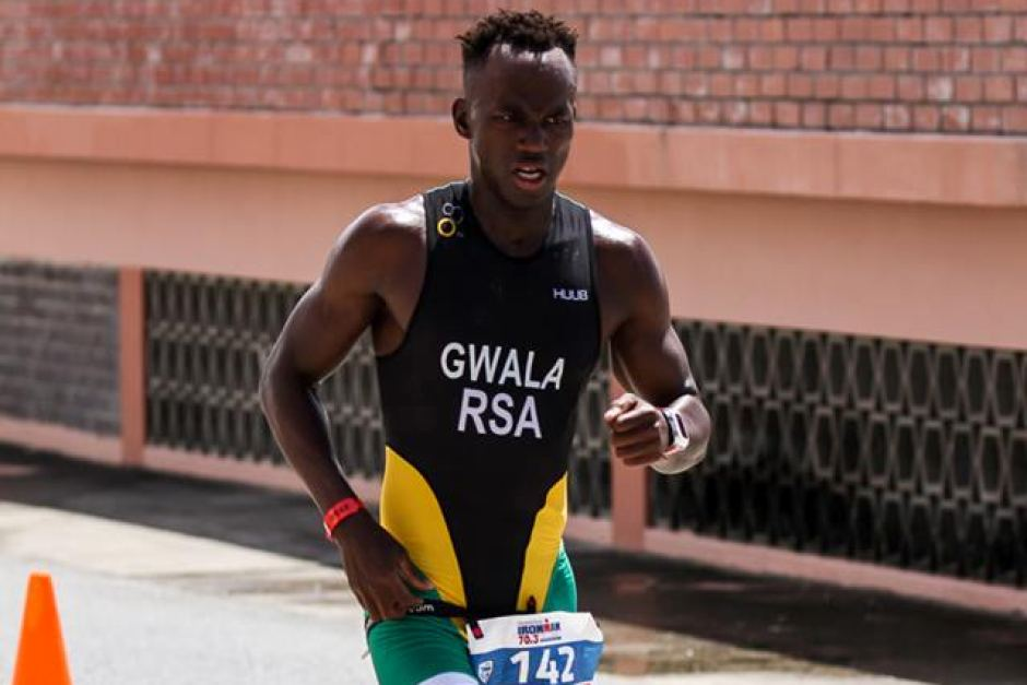 South African triathlete Mhlengi Gwala in hospital after attack with chainsaw