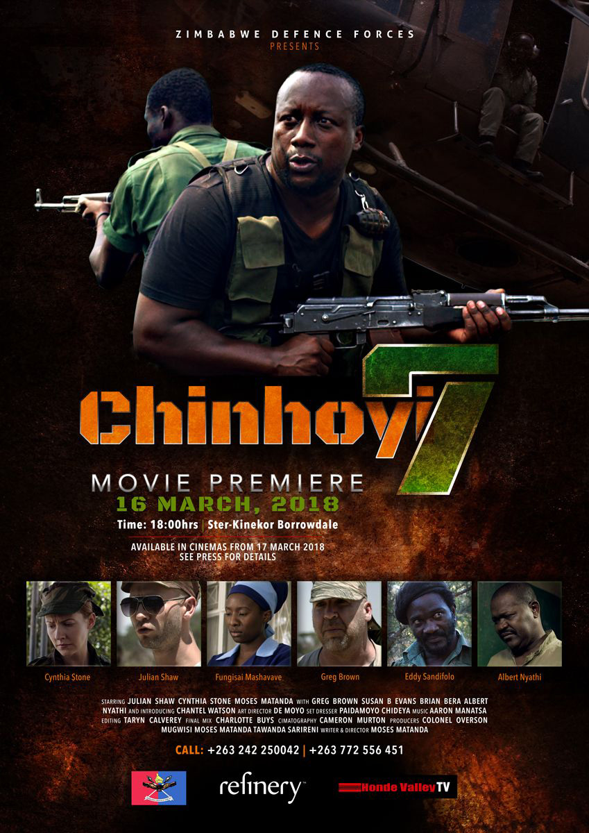 War biopic Chinhoyi 7 to premiere this March
