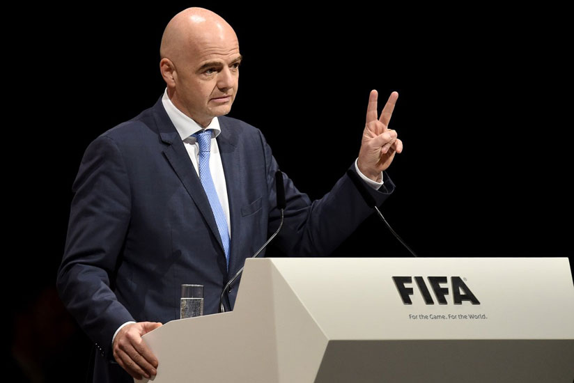 Infantino expects release of private info from cyberattack on FIFA