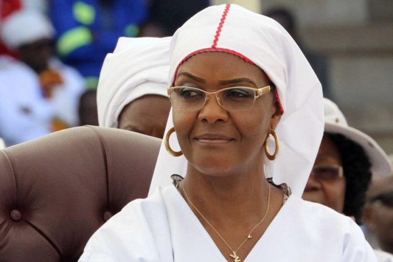 How Grace Mugabe poaching claims benefit President Mnangagwa