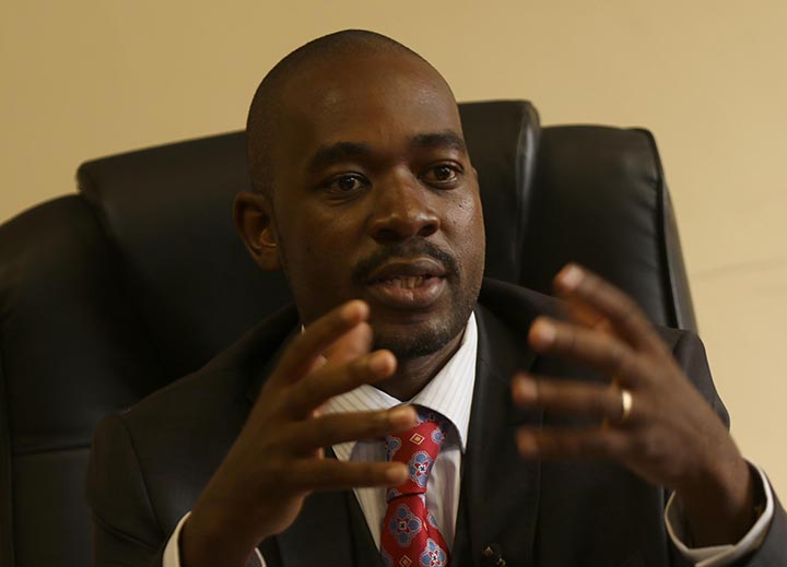 Chinotimba slams Chamisa over double standards