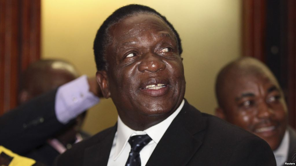 Mnangagwa says ready to name and shame 'patriotic' looters