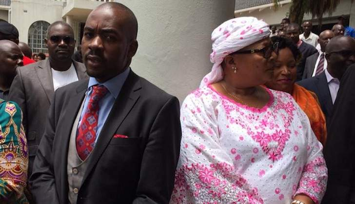 Chamisa says negotiating with peeved Khupe; party not collapsing