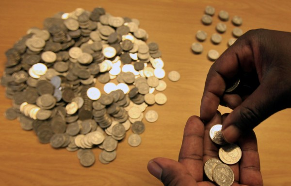 Shock as bank issues 1000 ten cent coins in withdrawals