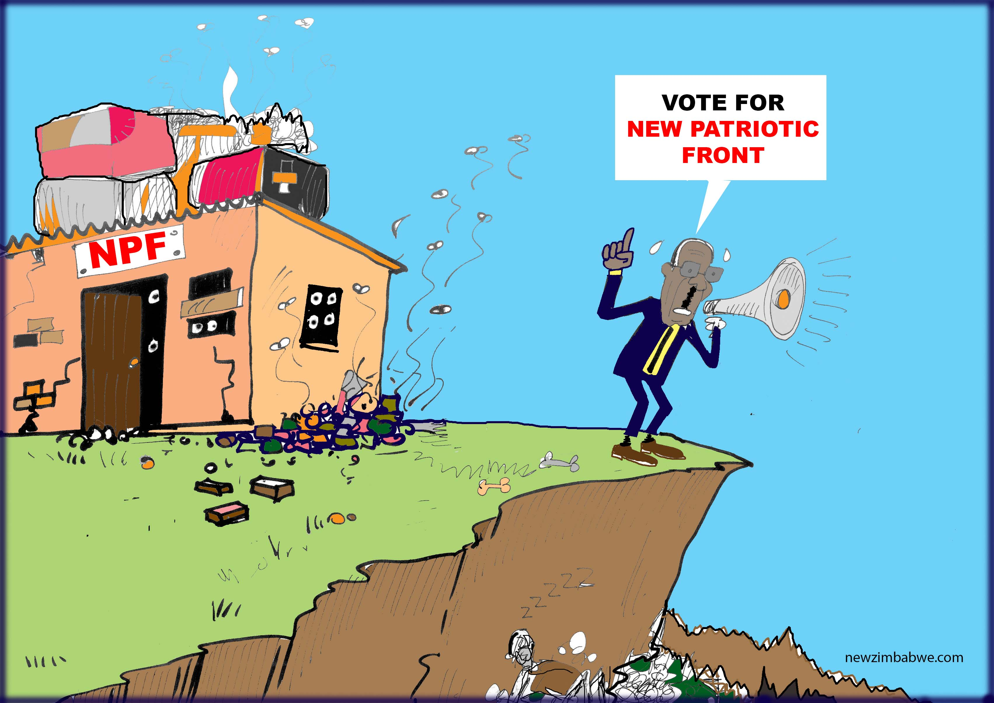 VOTE FOR NEW PATRIOTIC FRONT