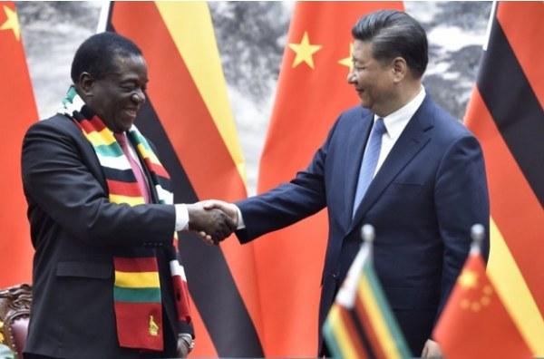 Mnangagwa thanks Xi, pledges to strengthen ties with China