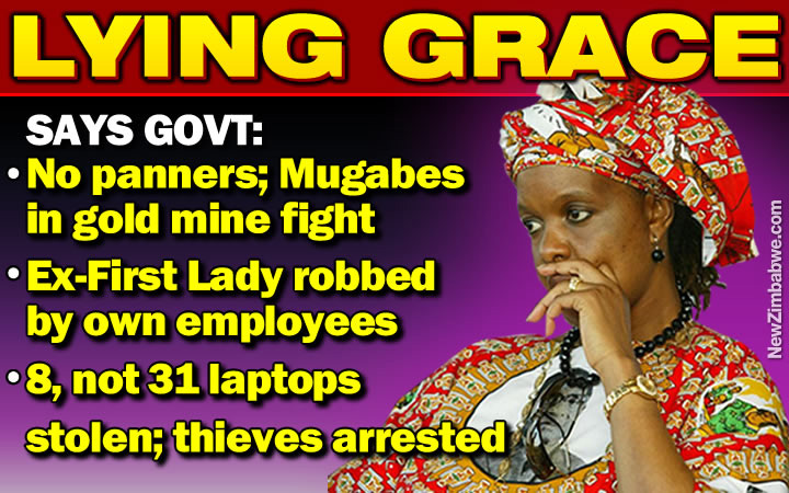 Govt exposes Grace Mugabe farm invasion and orphanage robbery lies