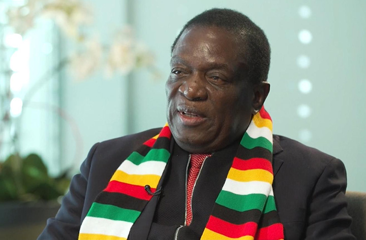Mnangagwa blasts media for spoiling US-Zim relations