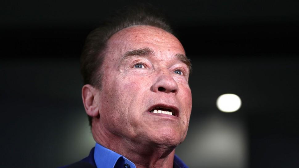 Arnold Schwarzenegger in 'good spirits' after heart surgery