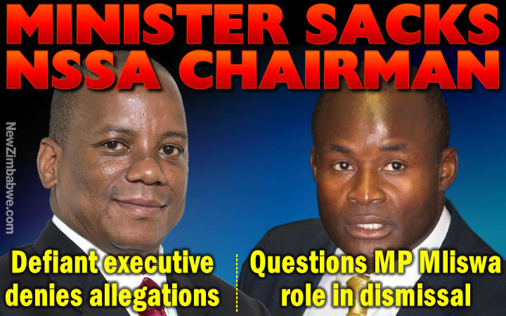 NSSA chairperson fired, but he hits back