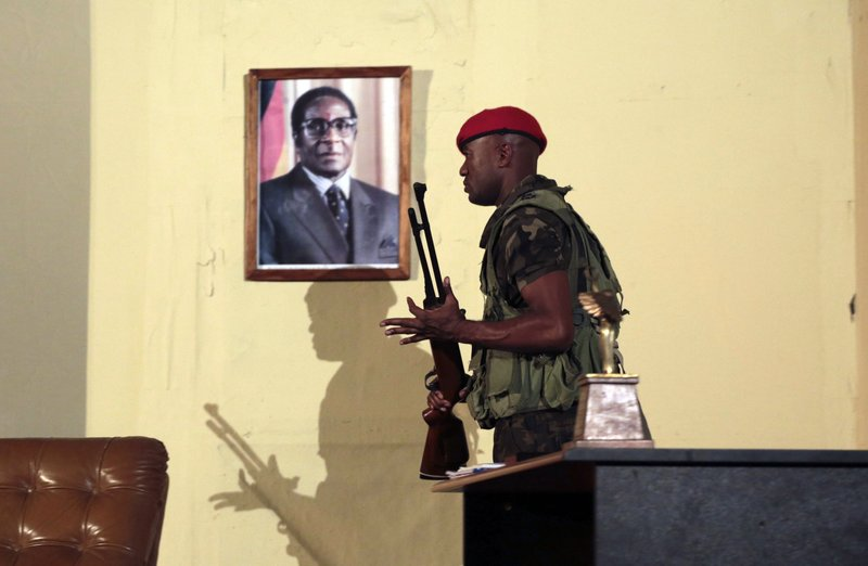 Mugabe's exit drama is already playing on stage