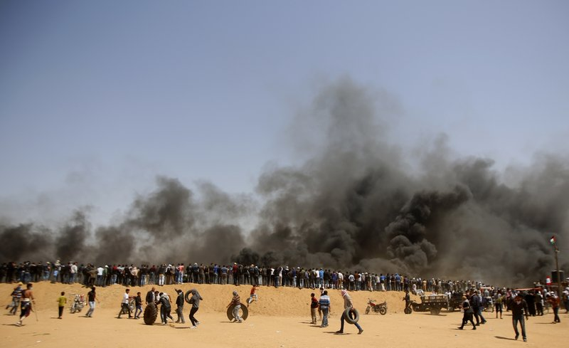 Gaza buries journalist killed while covering mass protests