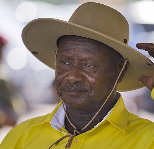 Uganda's ruling party endorses Museveni for sixth-term run